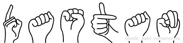 Dastan in Fingersprache für Gehörlose