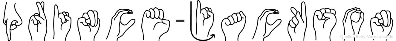 Prince-Jackson im Fingeralphabet der Deutschen Gebärdensprache
