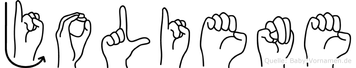 Joliene in Fingersprache für Gehörlose