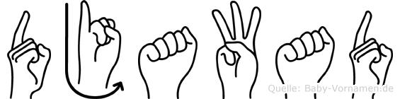 Djawad in Fingersprache für Gehörlose