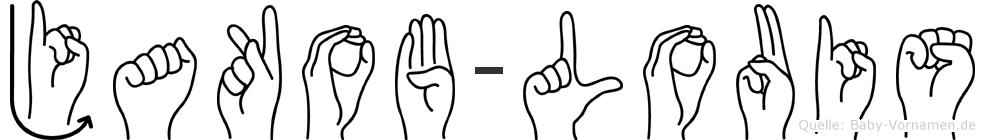 Jakob-Louis im Fingeralphabet der Deutschen Gebärdensprache