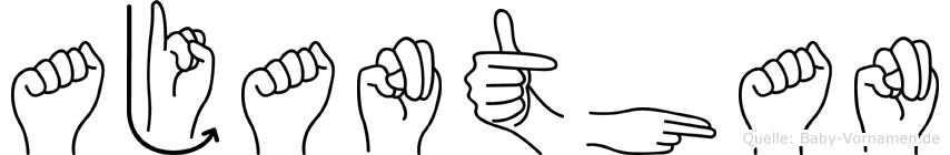 Ajanthan in Fingersprache für Gehörlose