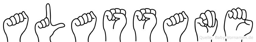 Alassane im Fingeralphabet der Deutschen Gebärdensprache
