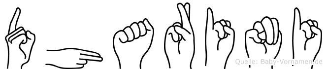 Dharini in Fingersprache für Gehörlose