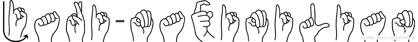 Jari-Maximilian im Fingeralphabet der Deutschen Gebärdensprache