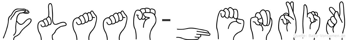 Claas-Henrik im Fingeralphabet der Deutschen Gebärdensprache