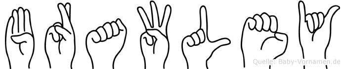 Brawley in Fingersprache für Gehörlose
