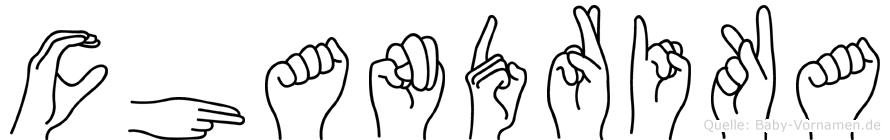 Chandrika in Fingersprache für Gehörlose