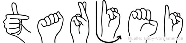 Tarjei in Fingersprache für Gehörlose