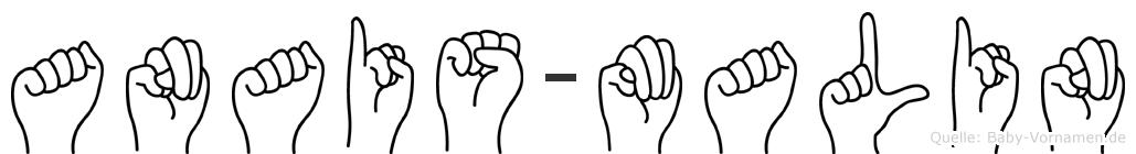 Anais-Malin im Fingeralphabet der Deutschen Gebärdensprache
