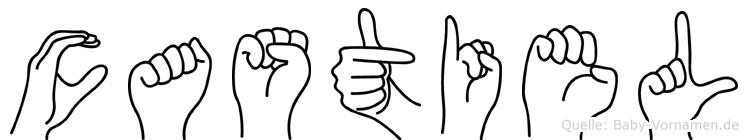 Castiel in Fingersprache für Gehörlose