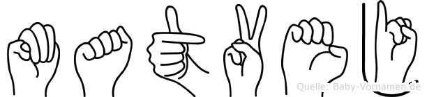Matvej in Fingersprache für Gehörlose