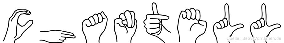 Chantell in Fingersprache für Gehörlose