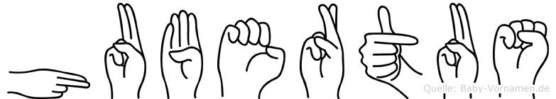 Hubertus in Fingersprache für Gehörlose