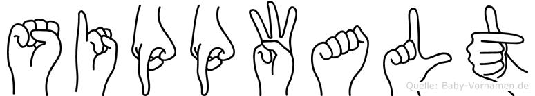 Sippwalt in Fingersprache für Gehörlose