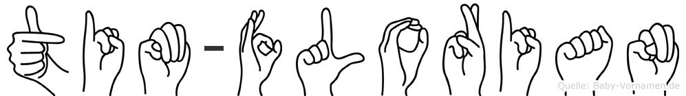 Tim-Florian im Fingeralphabet der Deutschen Gebärdensprache