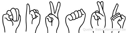 Nivard in Fingersprache für Gehörlose