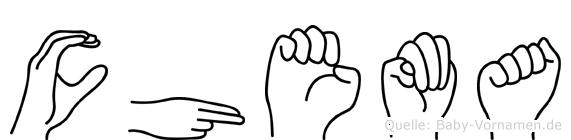 Chema in Fingersprache f�r Geh�rlose