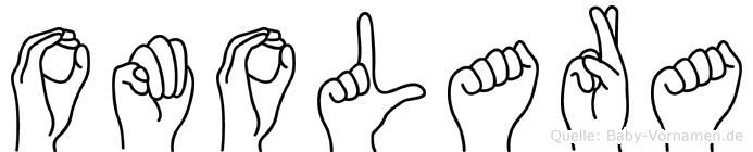 Omolara in Fingersprache für Gehörlose