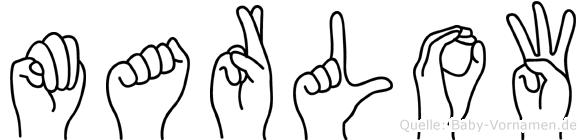 Marlow in Fingersprache für Gehörlose