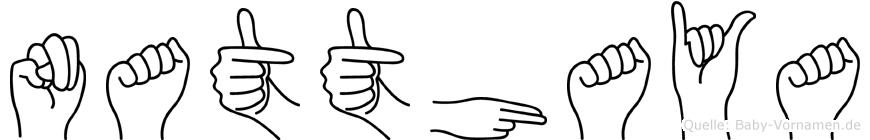 Natthaya in Fingersprache für Gehörlose