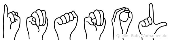 Imanol in Fingersprache für Gehörlose