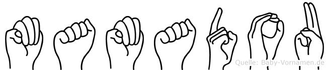 Mamadou in Fingersprache für Gehörlose