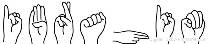 Ibrahim in Fingersprache für Gehörlose
