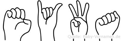 Eywa in Fingersprache für Gehörlose