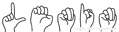 Lenin in Fingersprache für Gehörlose