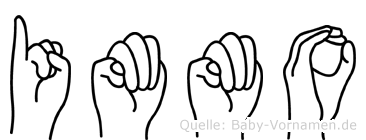 Immo in Fingersprache für Gehörlose