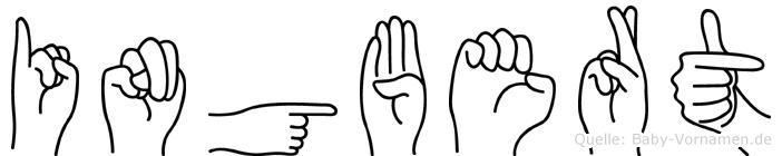 Ingbert in Fingersprache für Gehörlose
