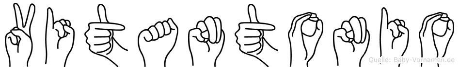 Vitantonio in Fingersprache für Gehörlose