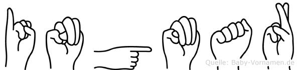 Ingmar in Fingersprache für Gehörlose