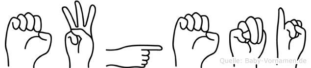 Ewgeni in Fingersprache für Gehörlose