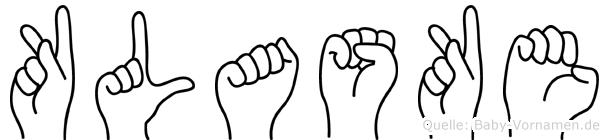 Klaske in Fingersprache für Gehörlose