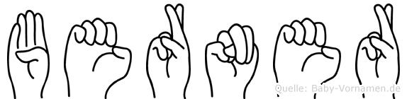 Berner in Fingersprache für Gehörlose