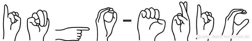 Ingo-Eric im Fingeralphabet der Deutschen Gebärdensprache