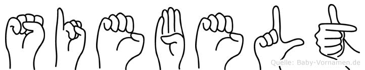 Siebelt in Fingersprache für Gehörlose