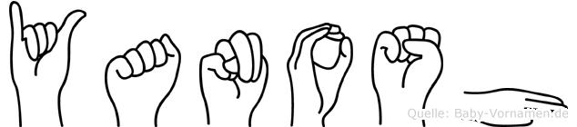 Yanosh in Fingersprache für Gehörlose