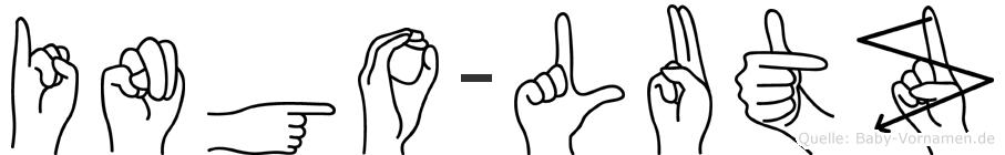 Ingo-Lutz im Fingeralphabet der Deutschen Gebärdensprache