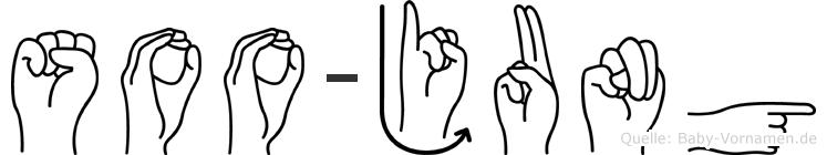 Soo-Jung im Fingeralphabet der Deutschen Gebärdensprache