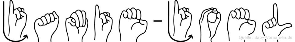 Jamie-Joel im Fingeralphabet der Deutschen Gebärdensprache