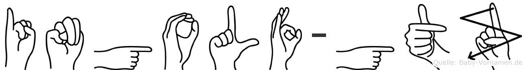Ingolf-Götz im Fingeralphabet der Deutschen Gebärdensprache