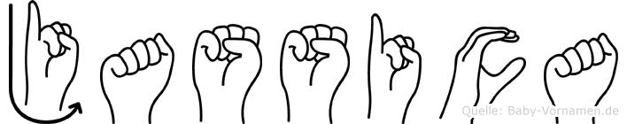 Jassica in Fingersprache für Gehörlose