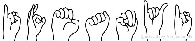 Ifeanyi in Fingersprache für Gehörlose