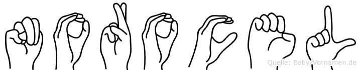 Norocel in Fingersprache für Gehörlose