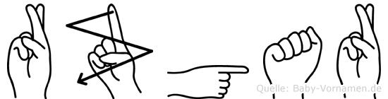 Rüzgar in Fingersprache für Gehörlose