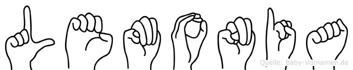 Lemonia in Fingersprache für Gehörlose