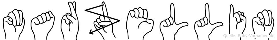 Marzellin in Fingersprache für Gehörlose